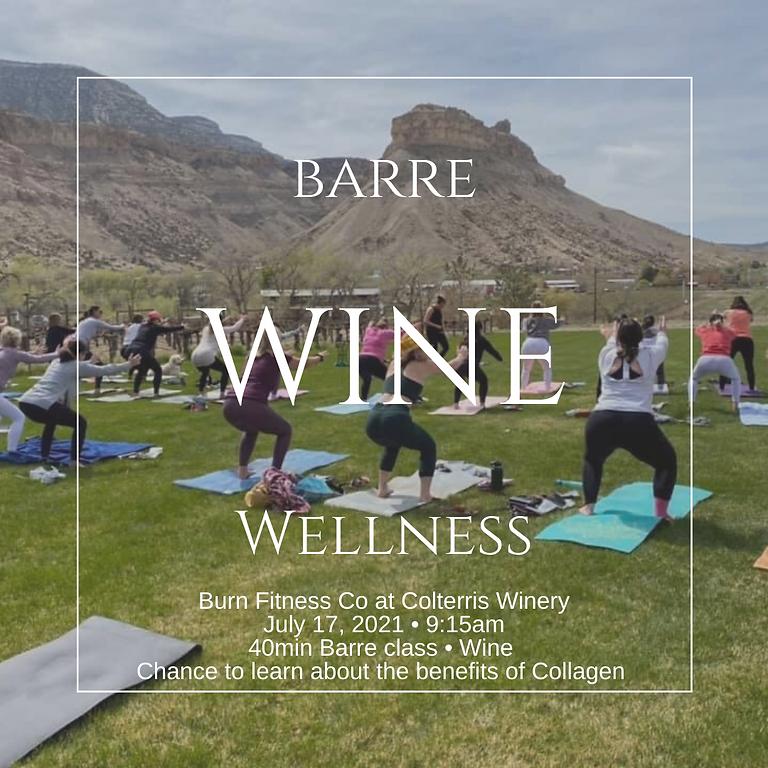 Barre, Wine + Wellness
