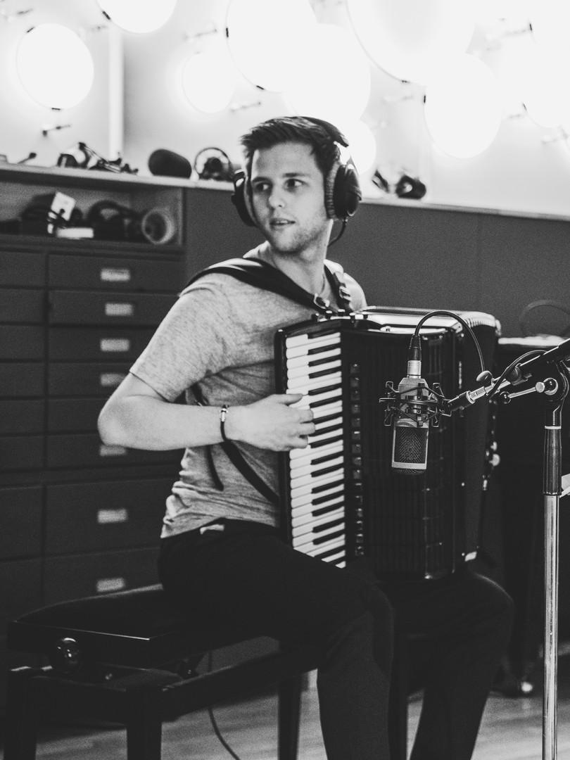 Studio recording with the Duo Minerva 2019