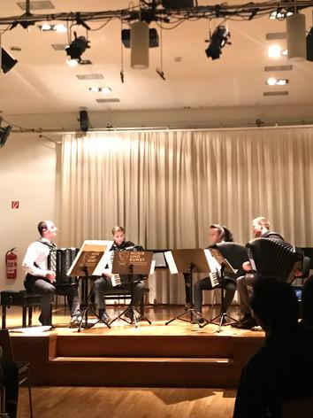 MUK accordion quartet
