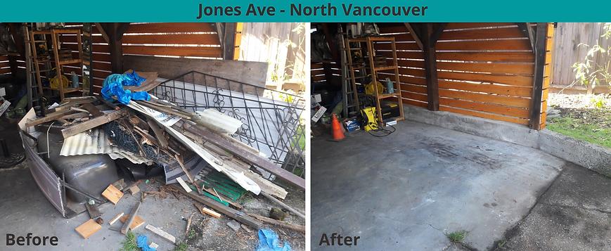 Jones Avenue North Vancouver Junk Remova