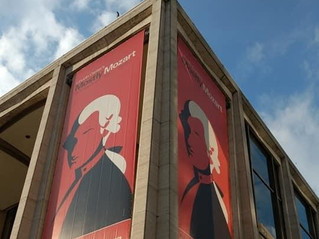 MMFO banner at Lincoln Center