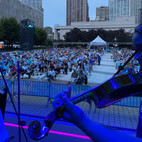Bandshell audience