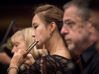 Jasmine Choi, principal flute