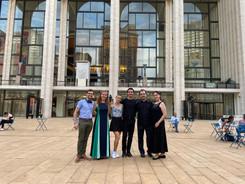 Troy, Katherine, Marzia, Lorenzo, Shmuel and Sophia Mozart Duo concert