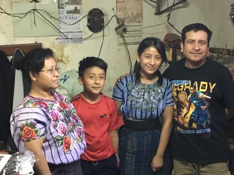 Home Visit Hellen Luisa Roxana Ajchomaja