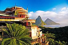 JadeMountain-SaintLucia Resort Exterior.