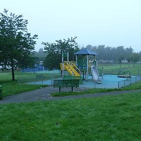 Childres play area, Garrowhill Park