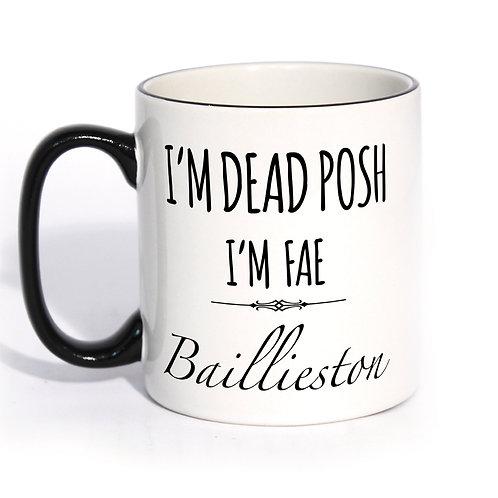 Dead Posh Mug - Baillieston