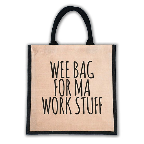 Wee Bag For Ma Work Stuff