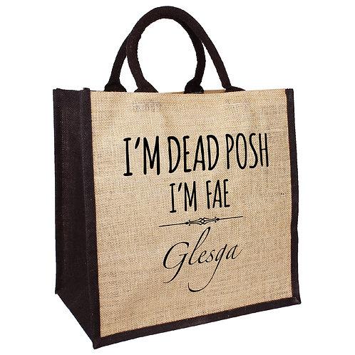 Dead Posh Bag - Glesga