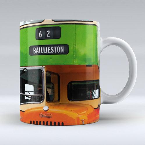 Oan The Buses Mug - C'Mon Get Aff (the 62)