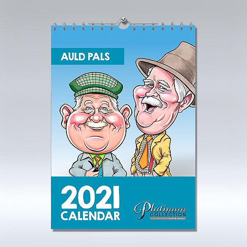 Auld Pals 2021 Calendar