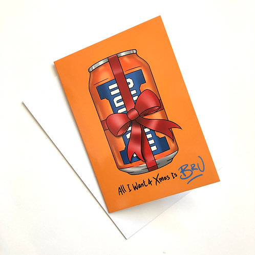 Irn Bru Christmas Card