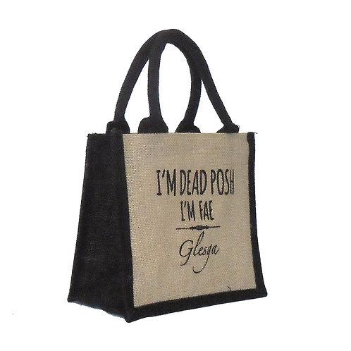 Dead Posh Cute Bag - Glesga