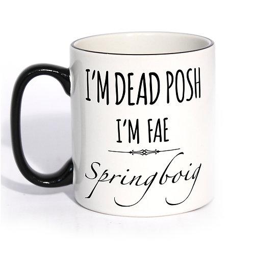 Dead Posh Mug - Springboig