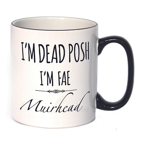 Dead Posh Mug - Muirhead