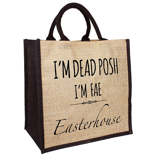Dead Posh Fae Easterhouse Bag