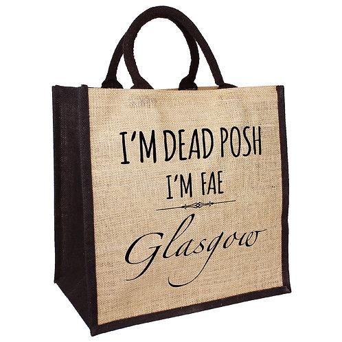 Dead Posh Bag - Glasgow