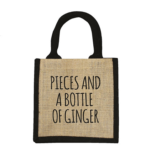 Pieces and a Bottle of Ginger Bag