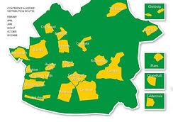 Hoolt Glasgow East Distribtion Map
