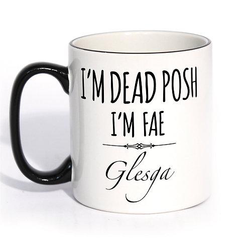 Dead Posh Mug - Glesga