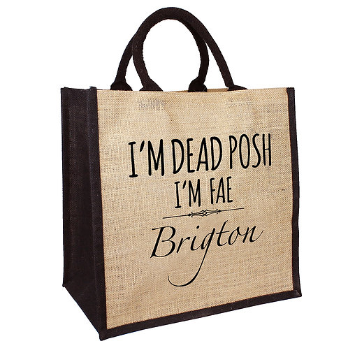 Dead Posh Bag - Brigton