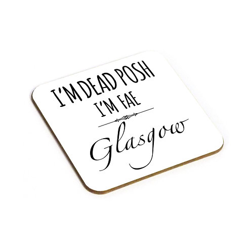 Dead Posh Coaster - Glasgow