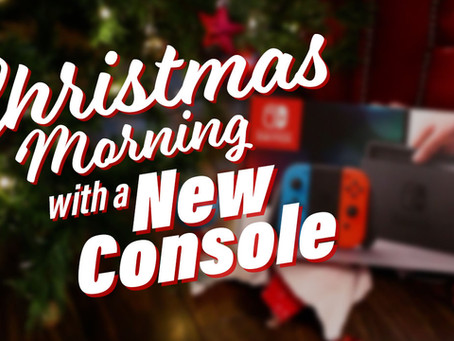 Christmas Morning with a New Console