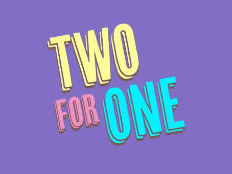 Two For One - BBC iPlayer - June 9th at 8pm