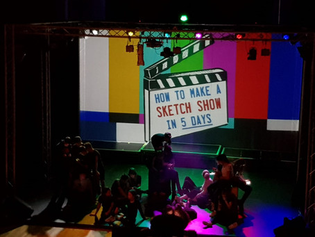 How to Make a Sketch Show in 5 Days (PACE Youth Theatre)