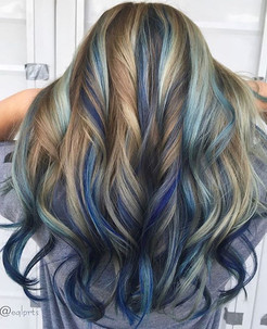 Check out this STUNNING color melt by our lovely stylist, Randi.jpg