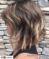 Foils and balayage by our incredibly talented _eqlprts 💋 We're so ready for this weekend...jpg