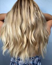 Beautiful Balayage done by Melina • Call or Walk-ins welcome ✂️__hair_by_melinanaish__#hairartist #haircut #hair #haircolor #santaclarita #s
