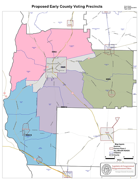 Polling Locations Map