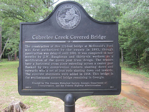 Coheelee Creek Covered Bridge
