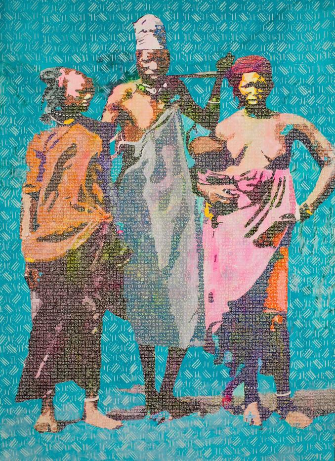 Cayor homme et femmes Peulhes