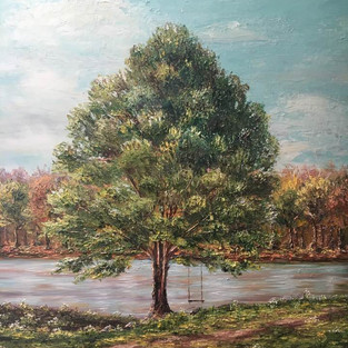 A Tree Planted By Streams