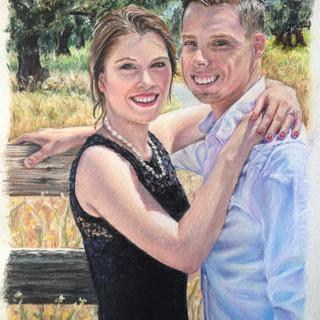Engagement Portrat