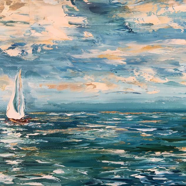 Sailing on Gold