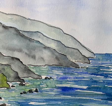 Big Sur Watercolor - Advanced