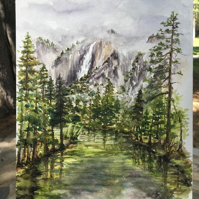 Yosemite Falls Plein Air