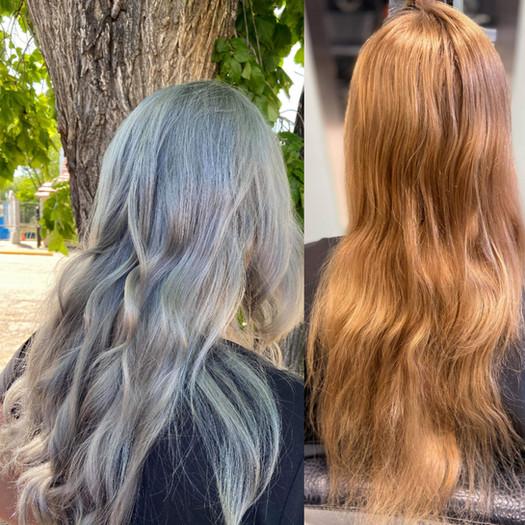Hair Cut & Colour by Kennedy