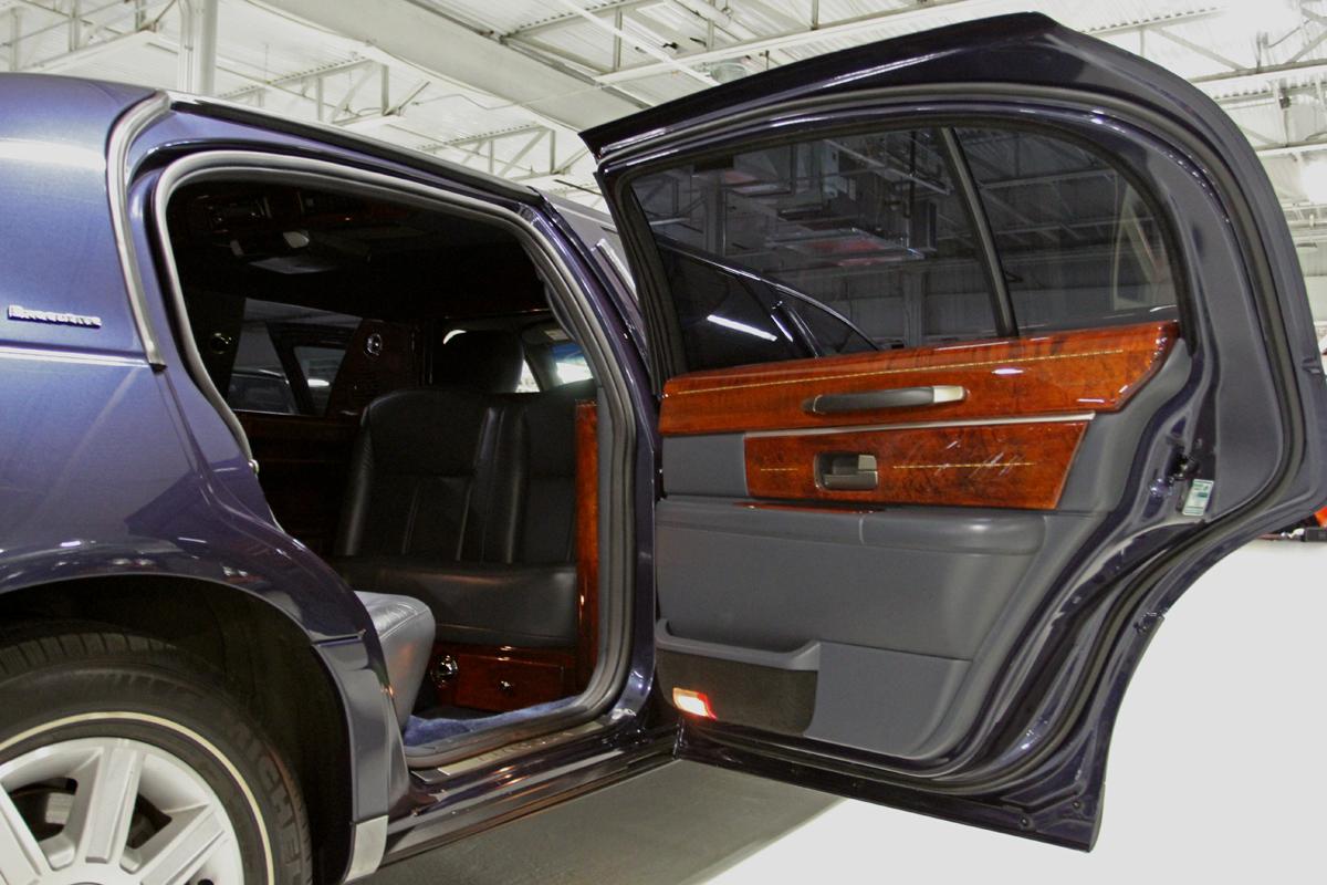 Passenger Rear Panel