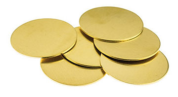 brass disc circle
