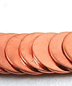 Copper alloy circle