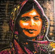 Malala Yousafzai (born July 12, 1997) is a Pakistani activist for female education and the youngest Nobel Prize laureate. She is known for human rights advocacy, especially the education of women and children in her native Swat Valley in Khyber Pakhtunkhwa, northwest Pakistan, where the local Taliban had at times banned girls from attending school. Her advocacy has grown into an international movement.  On 9 October 2012, while on a bus in the Swat District, after taking an exam, Yousafzai and two other girls were shot by a Taliban gunman in an assassination attempt in retaliation for her activism.  The attempt on her life sparked an international outpouring of support.  Weeks after the attempted murder, a group of fifty leading Muslim clerics in Pakistan issued a fatwā against those who tried to kill her. The Taliban was internationally denounced by governments, human rights organizations and feminist groups.