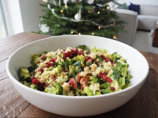 Recept: Broccoli salade met granaatappelpitjes