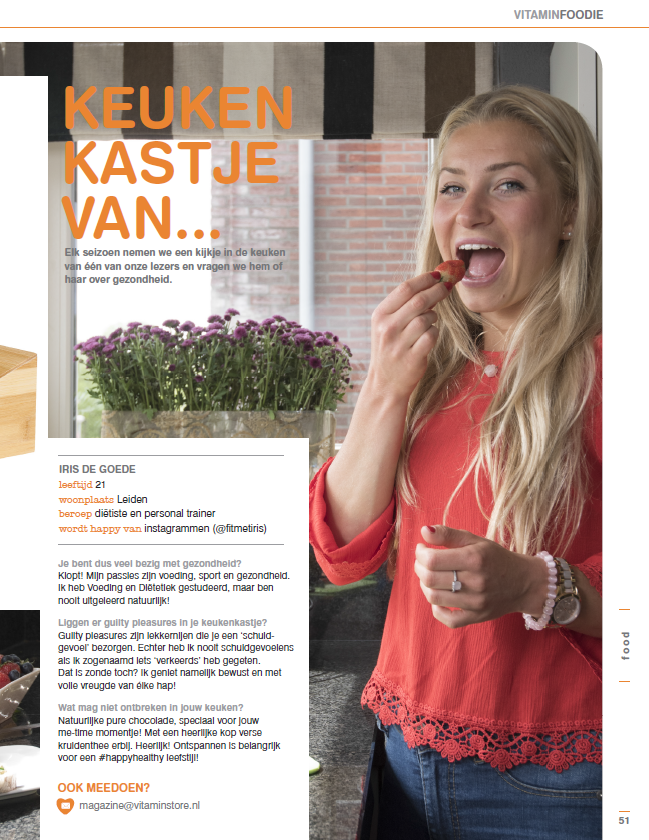 Vitaminstore Magazine Zomer 2016