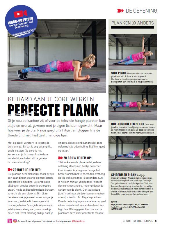 Intersport Magazine 2016 - De plank