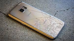 Samsung S7 cracked back